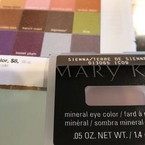 NEW Marykay mineral eye color, Sienna